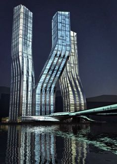 Dancing Towers, Dubai