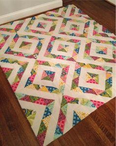Half Square Triangles - I like it!
