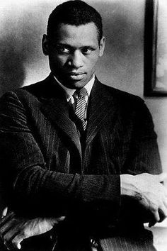 """""""My father was a slave and my people died to build this country, and I'm going to stay right here and have a part of it, just like you. And no fascist-minded people like you will drive me from it. Is that clear? -- Paul Robeson (1898-1976) during his testimony before the House Un-American Activities Committee, June 12, 1956"""