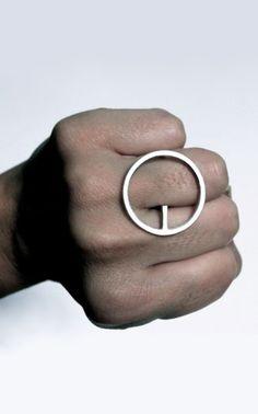 Andreas Schiffler Jewelry   OQ ring
