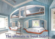 This must be the bestest Bunk Beds ever !!