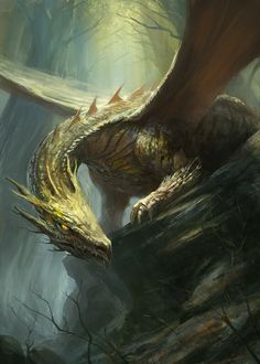 Forest Dragon by ~gerezon on deviantART