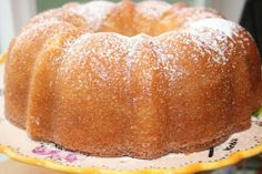 One-Bowl Kentucky Butter Cake