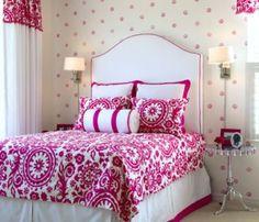 Bedroom on pinterest 92 pins for Fuschia bedroom ideas