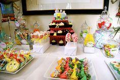 a colorful Ni Hao Kai-lan themed birthday party