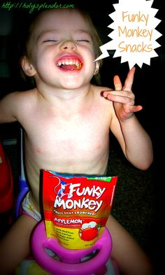 #Enter to #win a sampling of @Funky Monkey Snacks #healthysnacks from Display His Splendor @DaLynn McCoy