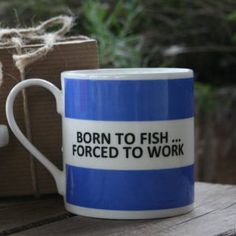 Born To Fish Hoop Mug more mugs here http://www.forthemanilove.com/the-pot-bank.html