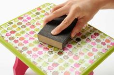 Mod Podging Basics or how to get a perfect decoupage project every time; someday I will want to know this.