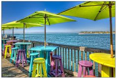 key west style, keywest, beach bars, keys, umbrella, happy colors, romantic vacations, place, key west florida