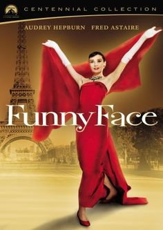Funny Face - Paramount Centennial Collection DVD ~ Audrey Hepburn, Fred Astaire, Kay Thompson film, bridesmaids, fashion, colors, audrey hepburn, funny faces, funni face, bridesmaid gowns, dance