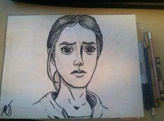 Bonnie in comic book art style