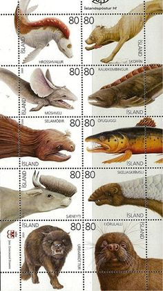 ShukerNature: ICELAND'S STAMP(S) OF CRYPTOZOOLOGICAL APPROVAL
