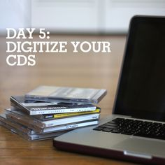 Here's a Spring cleaning reminder: digitize your CDs and DVDs to clear out space!