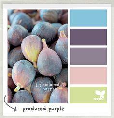 Produced purple