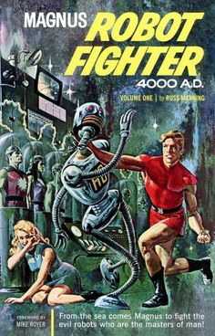 Magnus the Robot Fighter Volume 1-small