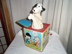 Original Mattel 1966 Snoopy Jack in the Box | Had this