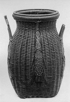 Bamboo Basket 19th century  Japan