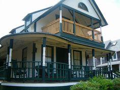 The Burton House by One Wink, via Flickr (Martha's Vineyard) Stayed here, in Oak Bluffs