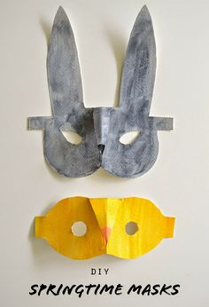 DIY Printable Springtime Masks