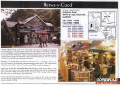 """Betws-y-Coed [opened 1993] - """"Additionally the Betws shop has weather information via a cell phone link to the summit of Snowdon giving details.. minute by minute from the top of Wales' highest mountain"""""""