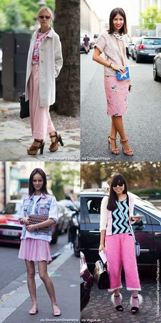 Blue is in Fashion this Year: Pink Mix