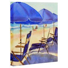 Beach Chairs Canvas
