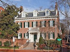 Amidst rows of stately federal townhouses and in an area once known as 'Irish Hill' sits this prestigious and stately mansion. Built in 1916 by a prominent doctor, this timeless residence epitomizes Georgian-Colonial architecture. #zillow