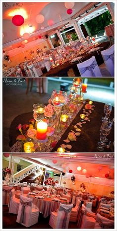 decoration mariage contes de fee salle