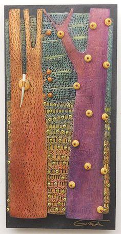 VICKI  GRANT - Homage to Tane Mahuta_ No. 11