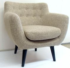 Fauteuils and chairs on pinterest lounge chairs armchairs and white apartment - Fauteuil relax beige ...