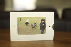 printable frame/envelope for photos