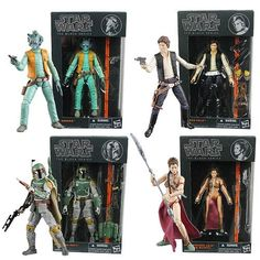 #StarWars Black Series 6-Inch  Action Figures Wave 2 Case - Who cares if Han or Greedo shot first, that's a pretty cool Fett. $79.99