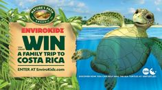 Win a trip to Costa Rica with @naturespath EnviroKidz #EnviroTripz