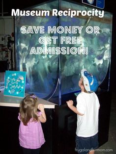 For SUMMER Activities!!! Museum Reciprocity! Save Money or Get FREE Admission! With a LIST of links to agreements. #Savings #Summer #Travel #Activities #Museum