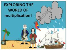 FREE Multiplication Exploring the World of Multtiplication Freebie from Donna-Thompson on TeachersNotebook.com -  (27 pages)  - This product is to aid in math center solving multiplication problems using a multiplication  table.
