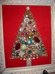 It's hard to beat a vintage jewel tree!