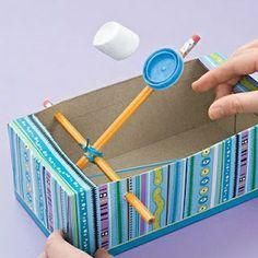Marshmallow Catapult fun-for-kids