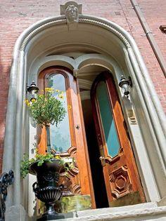 the doors, boston, arch, door design, grand entrance, fireplace mantels, front doors, beauti door, door frames