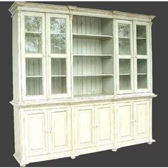 My dream china cabinet !!! I want this soooo bad for my future house! @Tanya Christensen-Fields... buy it for me!! NOW!! Store it in the Garage! Dooooo it, NOW!!-bk