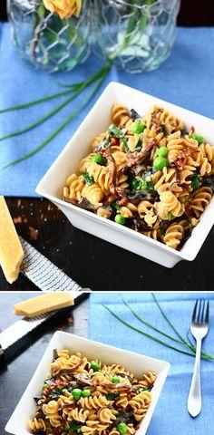 Mushroom Spring Pasta...