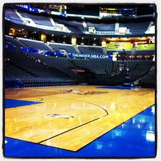 Chesapeake Energy Arena! #ThunderUp #OKC