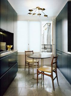 Interior Design by Dimore Studio | Trendland interior design, dimor studio, black kitchens, kitchen interior, galley kitchens, modern kitchens, studio interior