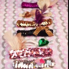 DIY baby girl headbands. Adorable gift for a shower.
