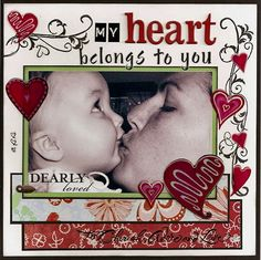 """""""My Heart belongs to you"""" love this"""