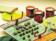 football cakes, bowl, the game, footbal cake, candi, hot chocolate recipes, football parties, football season, cake recipes