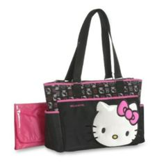 "Hello Kitty ""Baby HK"" diaper bag"