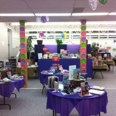 Candyland Book Fair!  The kids loved it!