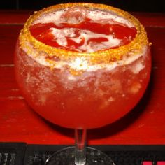 Hump Day Cocktail From ShakeStir: The Cherry Chamoy Margarita