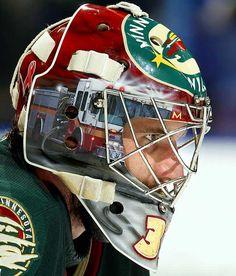 Josh Harding - Minnesota Wild - NHL Goalie Masks by Team (2009-10) - Photos - SI.com