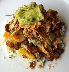 GAPS/Paleo burrito bowl -- Frugal Wellness